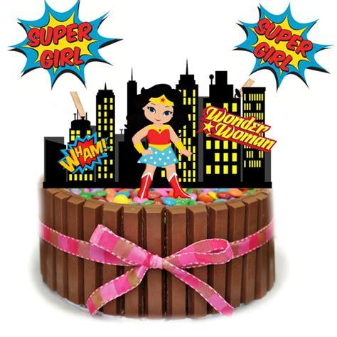 topo de bolo mulher maravilha scrap em sp elo7