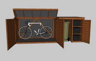 Outdoor Bike Storage Shed