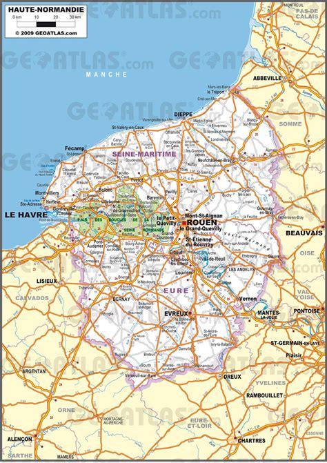 Carte Region Normandie by Carte De La Haute Normandie Plusieurs Carte De La R 233 Gion