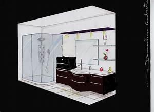 Plan 3d Salle De Bain : salle de bain peinture p10 ~ Melissatoandfro.com Idées de Décoration