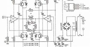 Wiring  U0026 Diagram Info  200 Watt Amplifier Wiring Diagram Schematic Using Tda2030