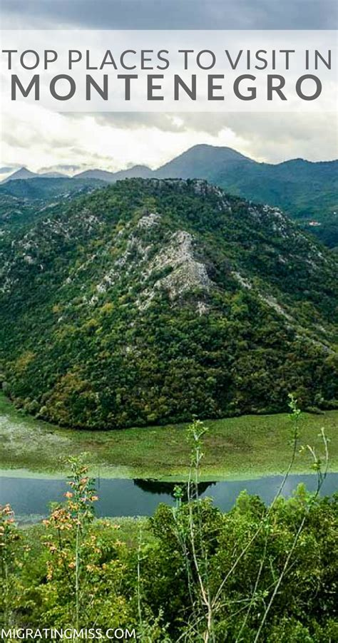 Top Places You Must See When You Visit Montenegro - Migrating Miss
