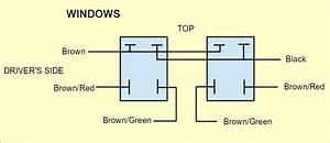 Window Motor Switch Wiring   Electrical    Instruments By