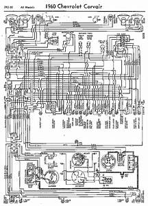Wiring Diagrams Of 1960 Chevrolet Corvair  59743