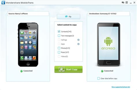 transfer iphone to samsung android to iphone transfer move contacts between samsung