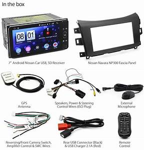Android Car Mp3 Player Stereo Radio For Nissan Navara D23