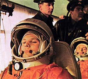 Yuri Gagarin, the first human in space