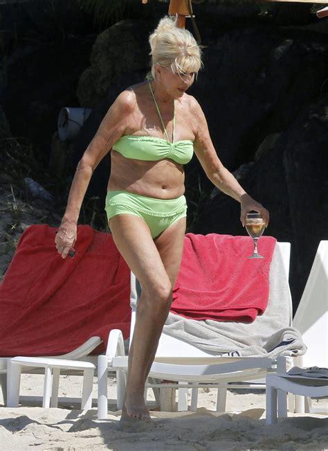 trump bikini ivana age zimbio shows