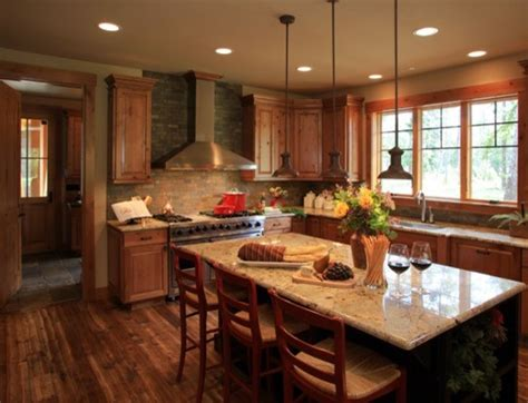 Custom Mountain Home Suncadia  Traditional  Kitchen