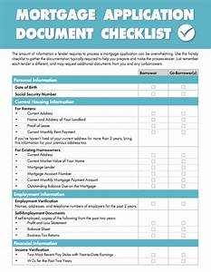 Document checklist achieve the dream for Documents needed for mortgage loan application