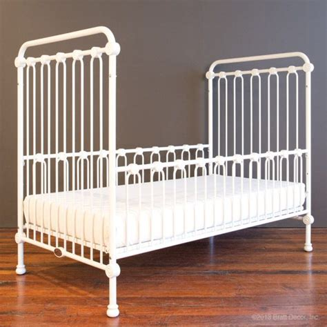 joy toddler bed kit satin white contemporary and elegant