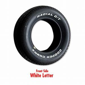 cooper radial gt raised white letter tire p295 50r 15 With cooper white letter tires