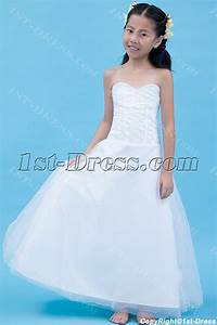 gorgeous long mini wedding dress for kids1st dresscom With wedding dresses for kids