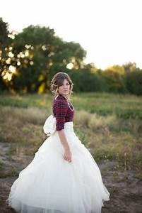 flannel wedding dress dream day pinterest With flannel wedding dress