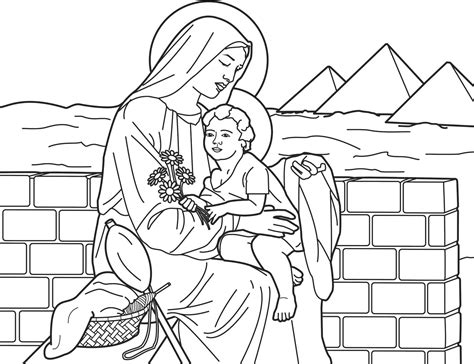Mary Cassatt Coloring Pages