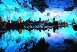 Reed Flute Cave China Lake
