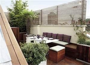 Sichtschutz Balkon Seitlich : idee holz balkon ~ Sanjose-hotels-ca.com Haus und Dekorationen