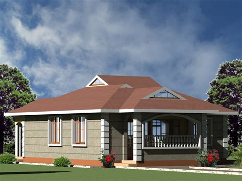 Simple & Small 3 bedroom house plan HPD Consult