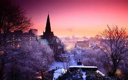 Winter Night Widescreen Pixelstalk Moonlight