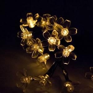 Guirlande Solaire Pas Cher : eclairage solaire fleur pas cher ~ Teatrodelosmanantiales.com Idées de Décoration