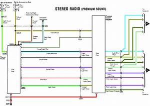 2001 Ford Mustang Radio Wire Diagram