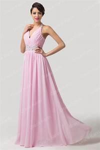los vestidos de fiesta halter 2015 recién llegado rosa