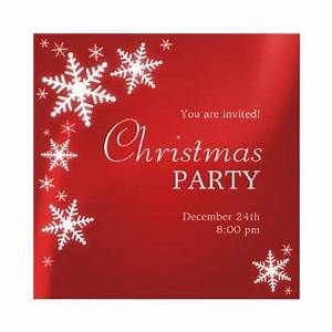 free printable christmas invites