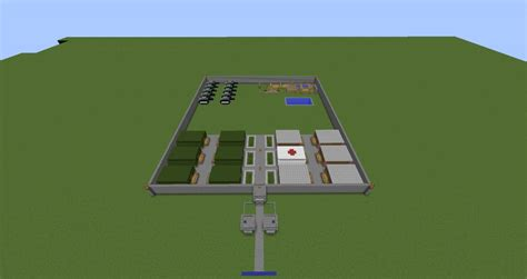 Army Base Minecraft Project
