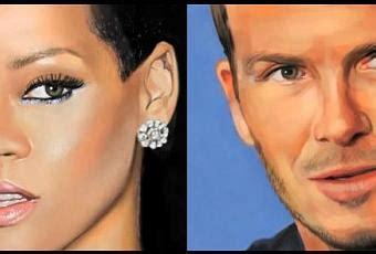 Rihanna Baignoire by Rihanna Et David Beckham Dessin 233 S Sur Paperblog