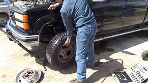 How To Change Front Brake Calipers And Rotors On A Gmc Or
