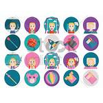 Icons Activities Toys Vector Stockunlimited Illustration