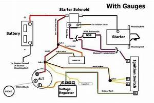 29 Ford Alternator Wiring Diagram  With Images