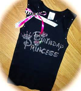 Disney Princess Birthday Shirt Girl
