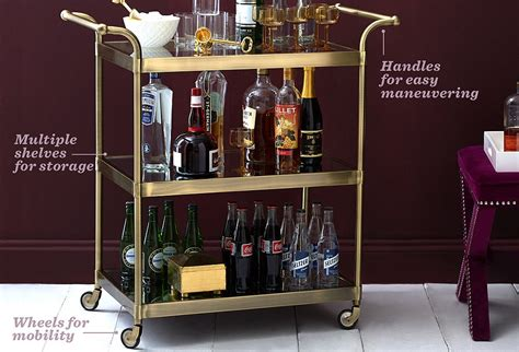island bar for kitchen the essential guide to bar carts one