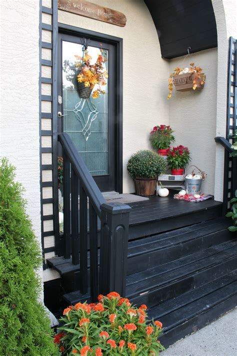 Fall Front Porch Decorating Ideas by Fall Porch Decorating Ideas Clean And Scentsible