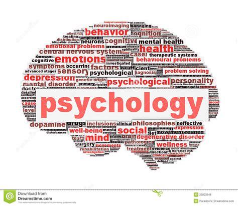 psychology symbol design isolated  white royalty