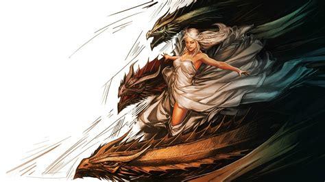 game  thrones dragon daenerys targaryen wallpapers hd