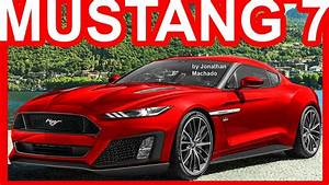 PHOTOSHOP New 2019 Ford Mustang 7th Gen @ Code Name S650 #Mustang - YouTube
