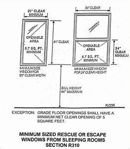 Basement Bedroom Egress Window Requirements