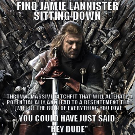 Kvothe Meme - game of thrones the nerd out