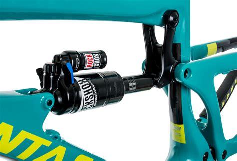 kit cadre santa nomad 3 carbon bleu jaune m fourche