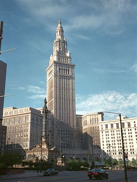 Terminal Tower Observation Deck Cleveland Ohio by Terminal Tower Cleveland Ohio Pictures To Pin On