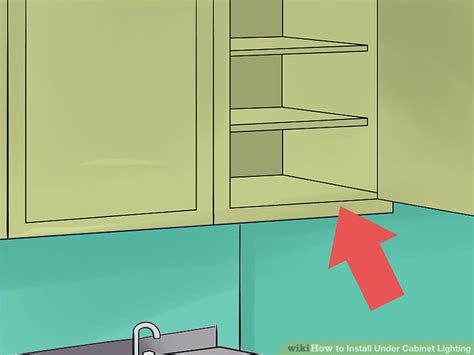 how to install cabinet lighting in your kitchen how to install cabinet lighting with pictures 9915