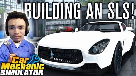 Building An Sls & Garage Customization!
