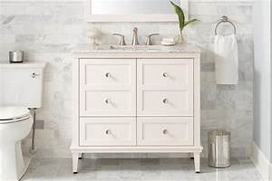 How to choose a bathroom vanity the home depot canada for How high should a bathroom vanity be