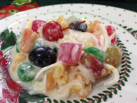 buko fruit salad pinoy food recipes