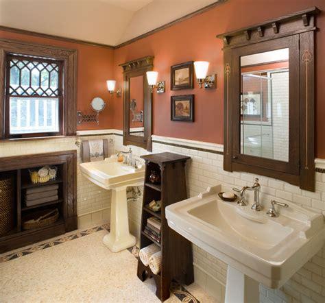 Bathroom1 Hill House  Craftsman  Bathroom  New York
