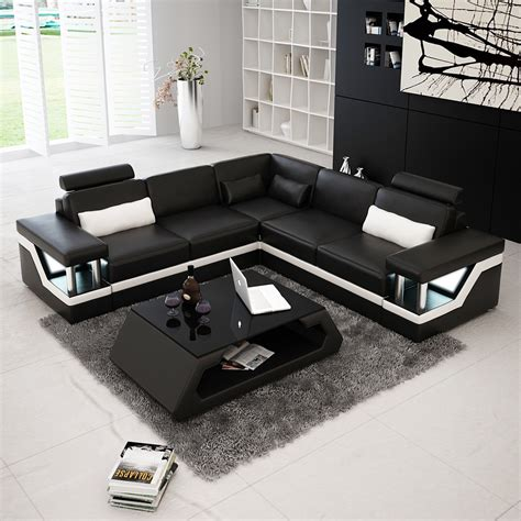 canapé d angle en cuir canapé d 39 angle design en cuir véritable tosca l lit