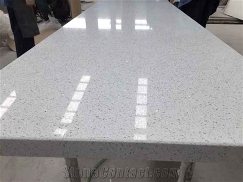 Sparkle Quartz Countertops by White Sparkle Quartz Countertop For Kitchen Top From
