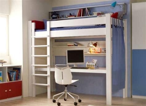 lit mezzanine fille avec bureau lit mezzanine la vedette de la chambre à coucher